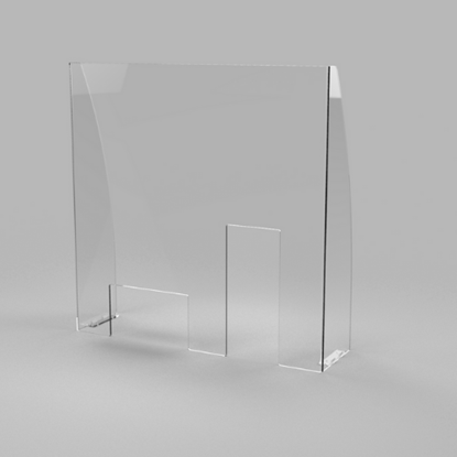 Clear Acrylic Sneeze Guard