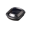 Black 1 Comp Microwaveable Container