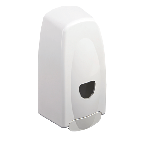 White Sanitiser Dispenser