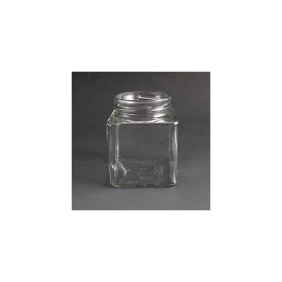 Square Jar 200ml (8oz)