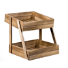 Wooden Display Stand 2 Tier
