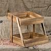 2 Tier Wooden Display Stand