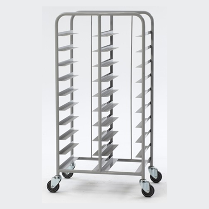24 Tray Clearing Trolley
