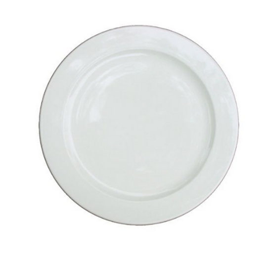 """Alchemy White Plate 8"""" (20cm)"""