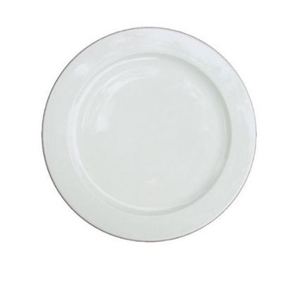 """Alchemy White Plate 9"""" (23cm)"""