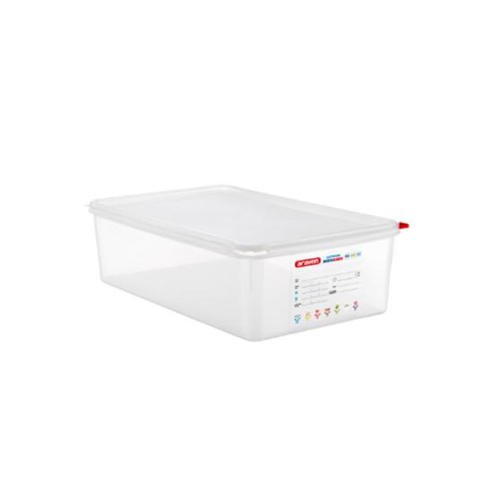 Araven Food Storage Container/Lid/Label 1/1x15cm (21L)