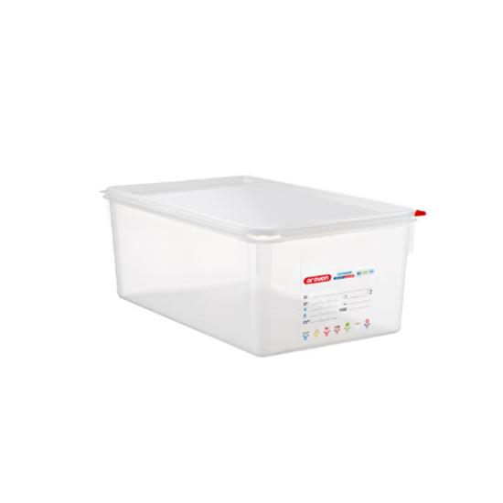 Araven Food Storage Container/Lid/Label 1/1x20cm (28L)