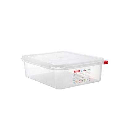 Araven Food Storage Container/Lid/Label 1/2x10cm (6.5L)