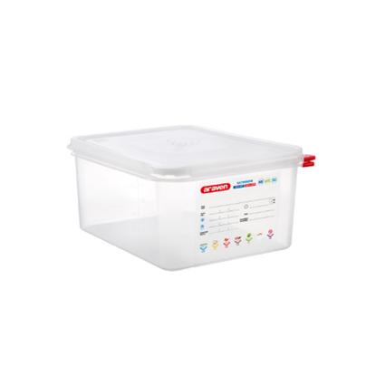 Araven Food Storage Container/Lid/Label 1/2x15cm (10L)