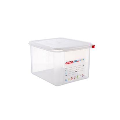 Araven Food Storage Container/Lid/Label 1/2x20cm (12.5L)