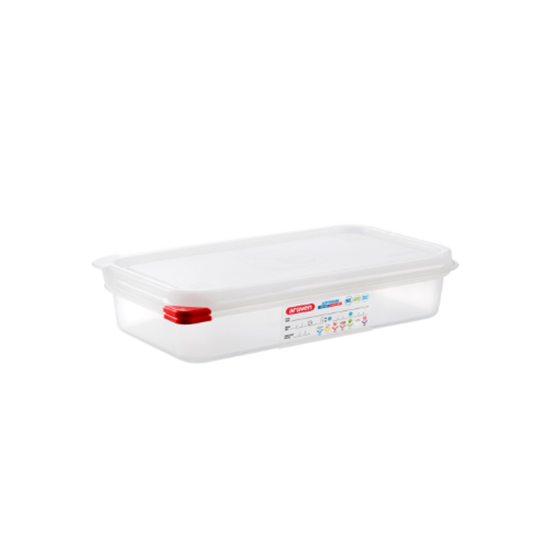 Araven Food Storage Container/Lid/Label 1/3x6.5cm (2.5L)