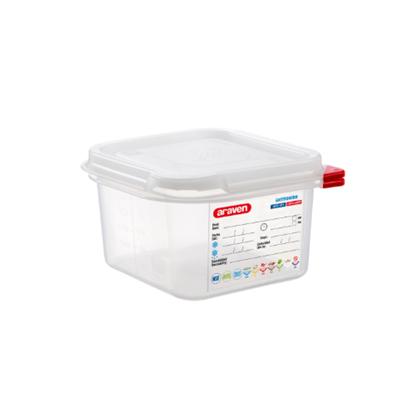 Araven Food Storage Container/Lid/Label 1/6x10cm (1.8L)