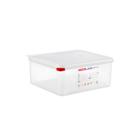 Araven Food Storage Container/Lid/Label 2/3x15cm (13.5L)