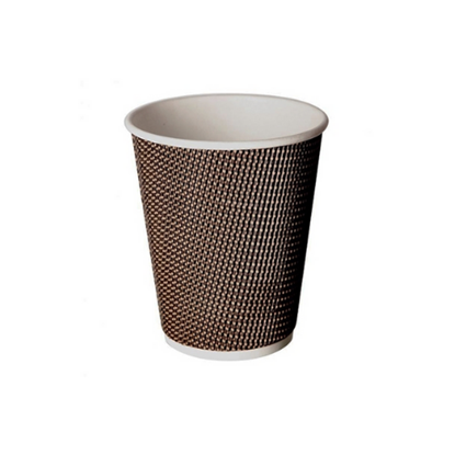 Aroma Beige / Brown Cup 12oz