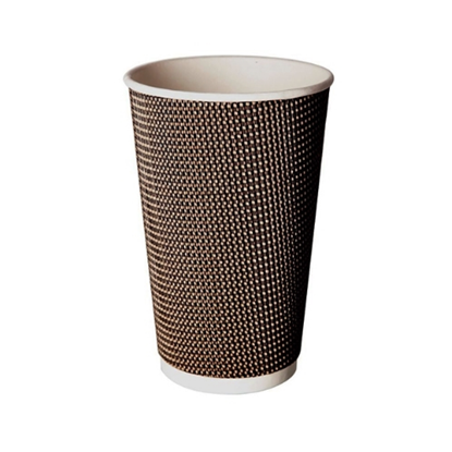 Aroma Beige Coffee Cup 16oz