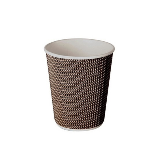 Aroma Cup, Beige / Brown 8oz