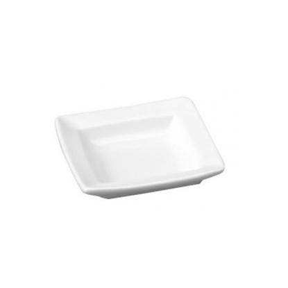 "Art De Cuisine Menu Miniatures Square Plate 2.75"" (7cm)"