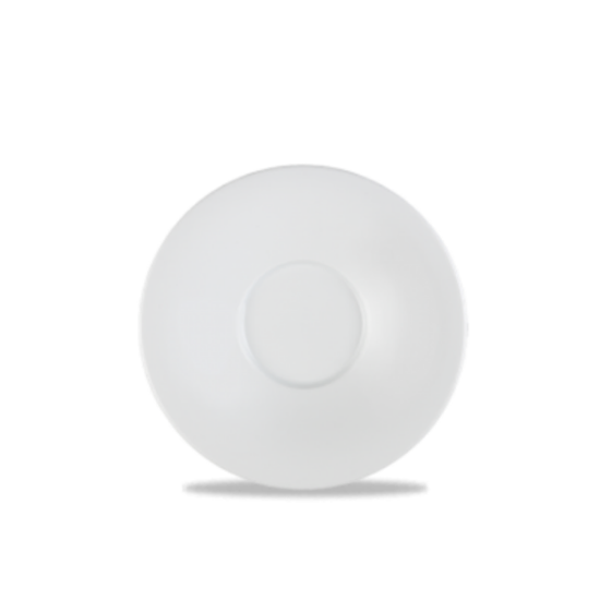 "Art De Cuisine Menu Porcelain Broad Rim Saucer 6.5"" (17.1cm)"