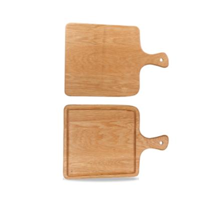 "Art De Cuisine Square Handled Oak Board 10x14.4"" (25.5x36.5cm)"
