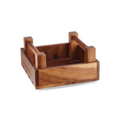 "Art De Cuisine Wooden Crate 7.9x7.9x4"" (20x20x10cm)"