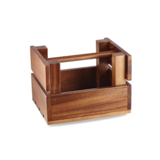 "Art De Cuisine Wooden Trug 7.9x6.3x4.7"" (20x16x12cm)"