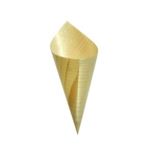 "Bamboo Cone 2.6x5"" (6.5x12.5cm)"