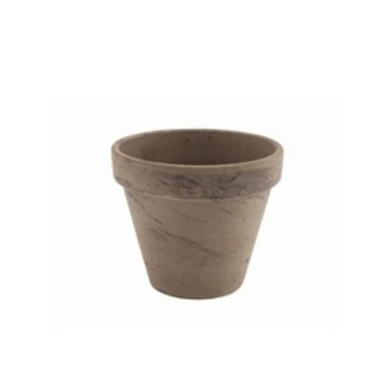"""Basalt Terracotta Pot 4.4x3.8"""" (11.2x9.7cm)"""