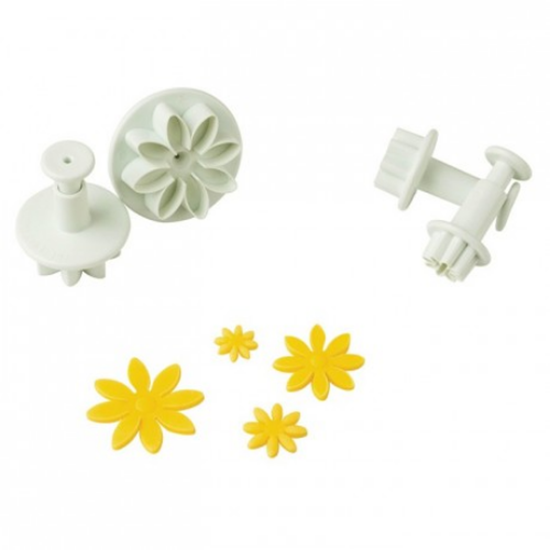 Daisy Pastry Cutter With Push Set