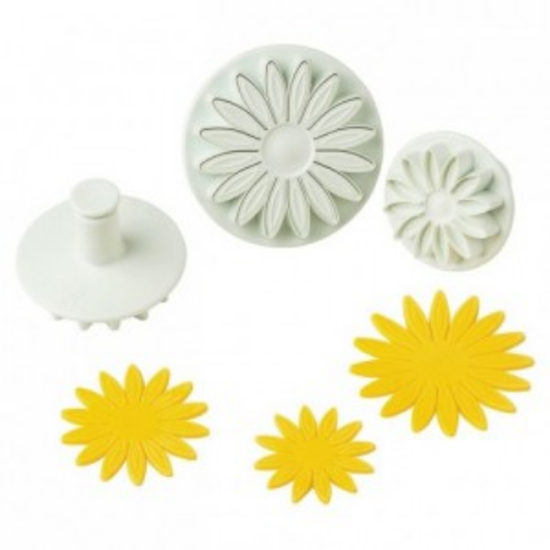Sunflower Pastry Cutter With Pusher Set