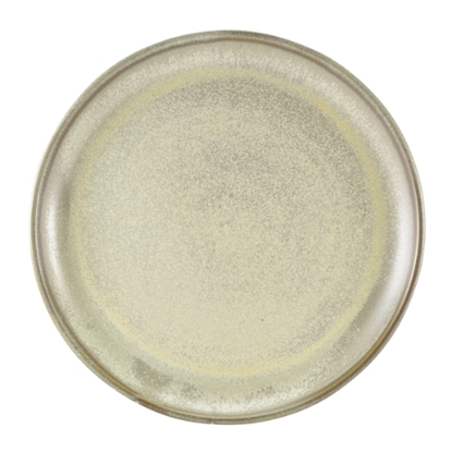 "Terra Porcelain Matt Grey Coupe Plate 10.8"" (27.5cm)"