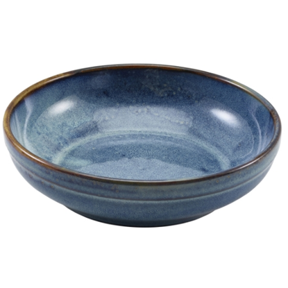 Terra Porcelain Aqua Blue Coupe Bowl 1L