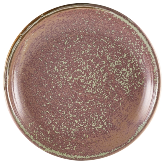 "Terra Porcelain Rose Deep Coupe Plate 11"" (28cm)"