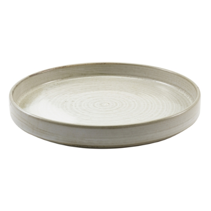 "Terra Porcelain Grey Presentation Plate 10.2"" (26cm)"