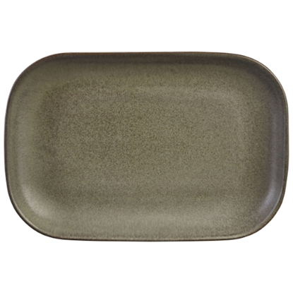 "Terra Stoneware Antigo Rectangular Plate 9.5x6.5"" (24x16.5cm)"