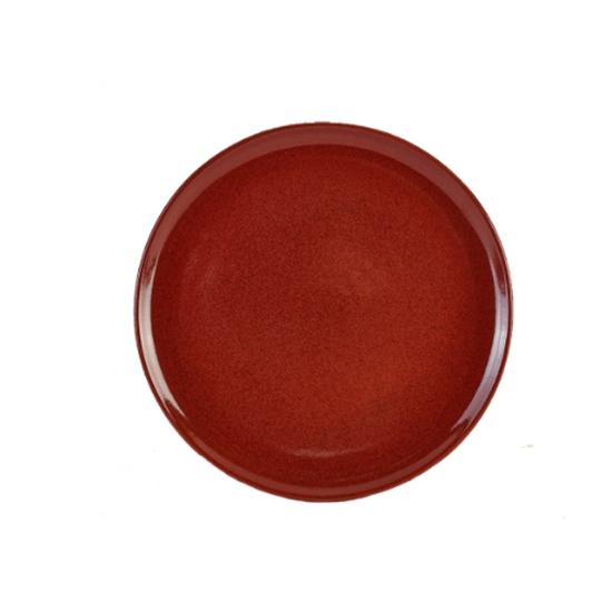 "Terra Stoneware Rustic Red Pizza Plate 13.2"" (33.5cm)"