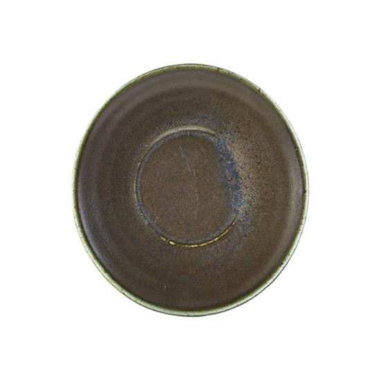 """Terra Porcelain Black Saucer 5.7"""" (14.5cm)"""