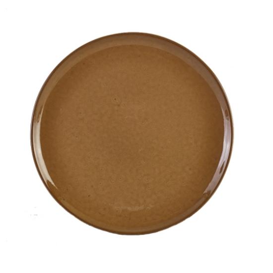 "Terra Stoneware Rustic Brown Pizza Plate 13.2"" (33.5cm)"