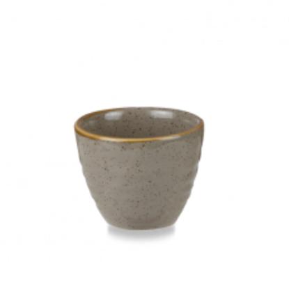 Churchill Stonecast Grey Ripple Dip Pot 5.7cl (2.5oz)