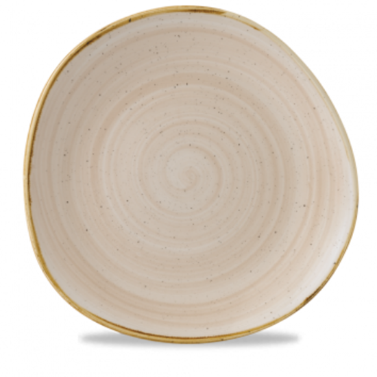 "Churchill Stonecast Nutmeg Organic Round Plate 11.3"" (28.6cm)"