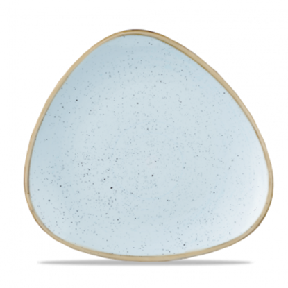 "Churchill Stonecast Duck Egg Lotus Plate 10.4"" (26.5cm)"