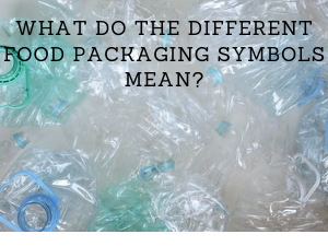 What do the different food packaging symbols mean?