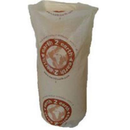 "Biodegradable Clear Sack 38x43"" (96.5x109.2cm)"