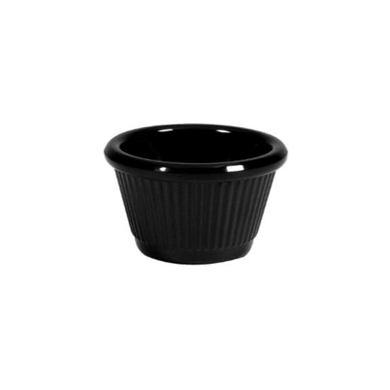 Black Melamine Ramekin 12cl (4oz)
