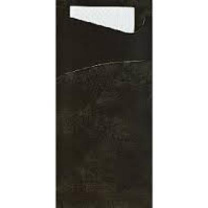 Black Paper Sacchetto 7.9x3.3 (20x8.5cm)