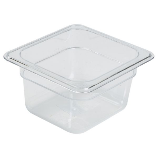 Gastronorm Clear Pan 1/6