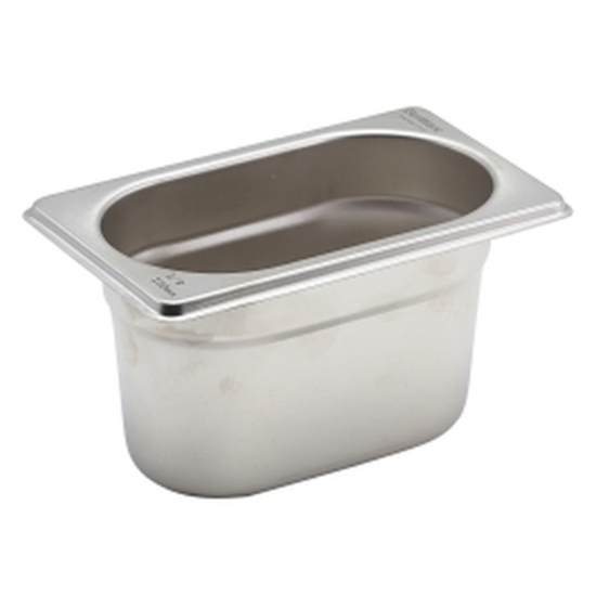 CaterPro Stainless Steel Gastronorm 1/9