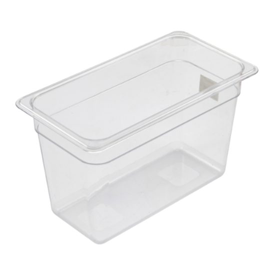 Clear Gastronorm Food Pan 1/3
