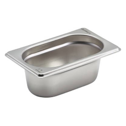 CaterPro Stainless Steel Gastronorm 1/9 (65mm Deep)