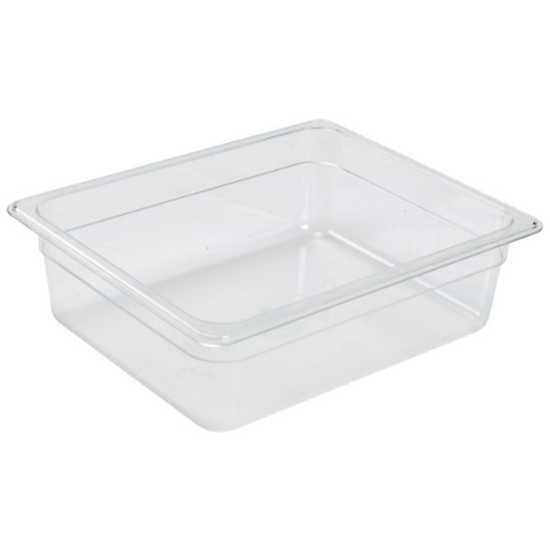 Clear Food Storage Container 1/2 (100mm Deep)