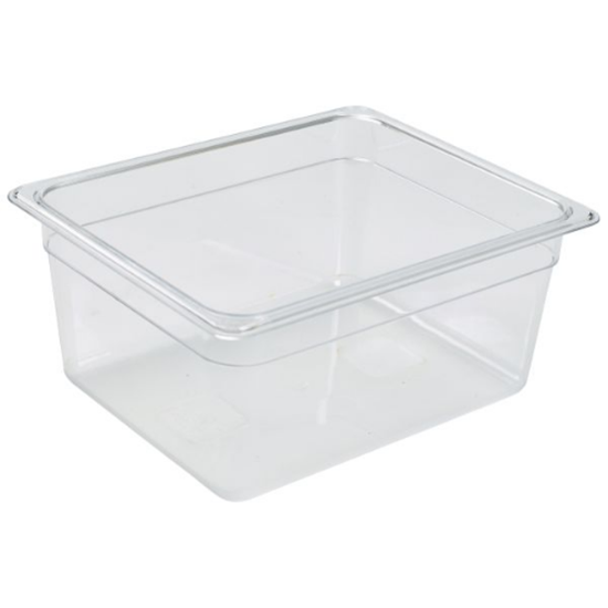 Clear Food Storage Container 1/2 (150mm Deep)